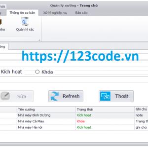 Chia sẻ source code quản lý kho hàng c# có báo cáo kèm theo