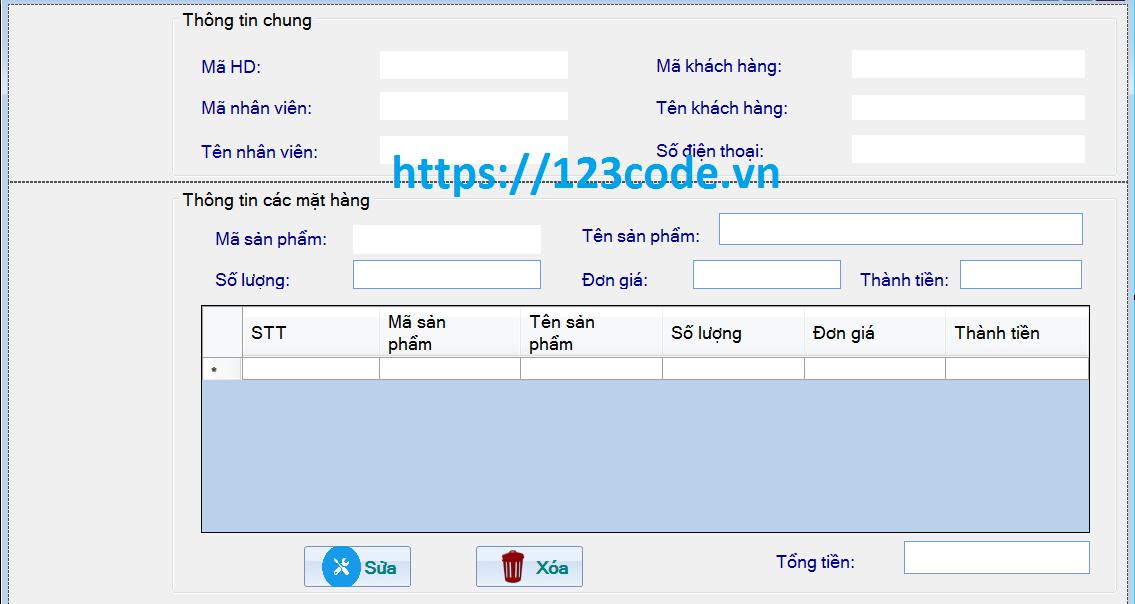 Source code bán hàng quần áo c# database mysql