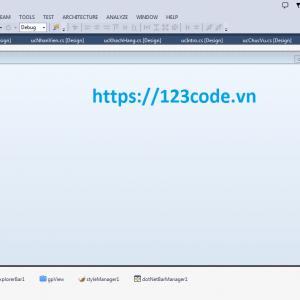 Báo cáo và source code chương trình quản lý khách hàng c# full data