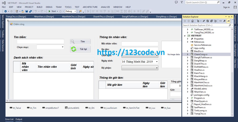 Báo cáo và code phần mềm quản lý cửa hàng c#