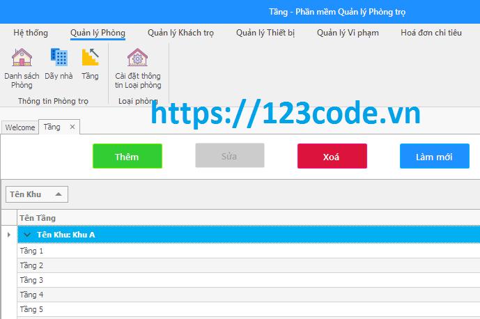 Source code đề tài phần mềm quản lý phòng trọ c#