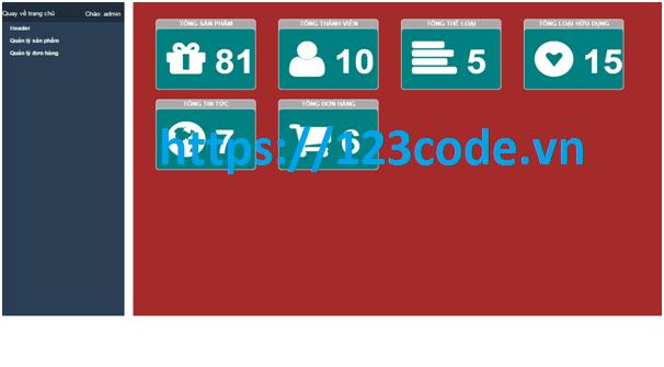 Tải miễn phí source code đề tài quản lý bán hàng php thuần có báo cáo