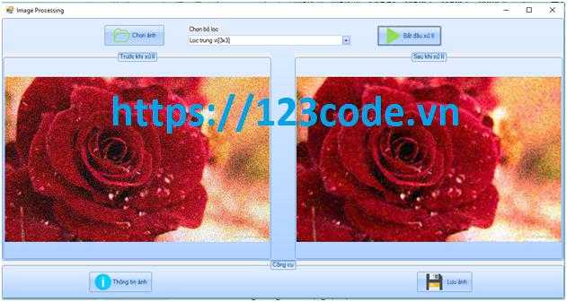 Source code chương trình xử lý ảnh c# kèm báo cáo