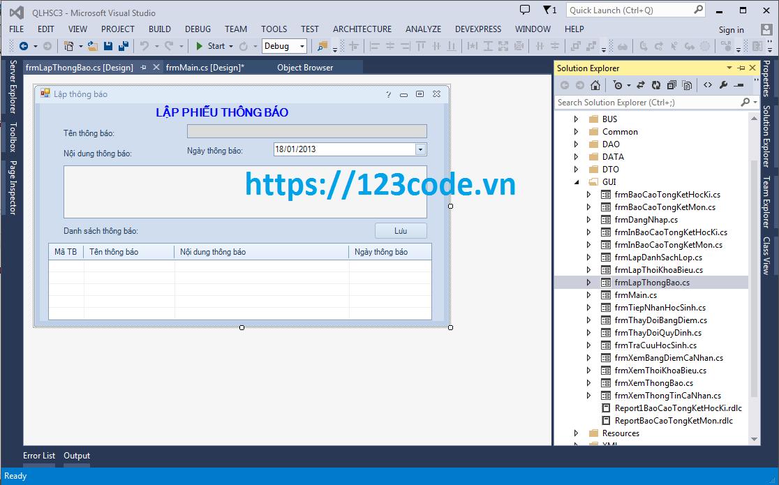 Source code đồ án phần mềm quản lý học sinh cấp 3 c# có báo cáo