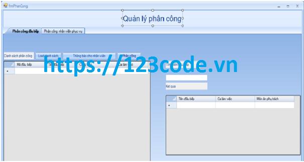 Share code đồ án quản lý nhà hàng c# sql server có báo cáo