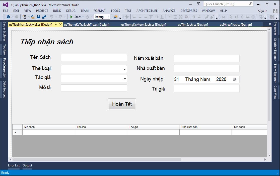Source code đề tài quản lý thư viện c# có báo cáo -CNPM