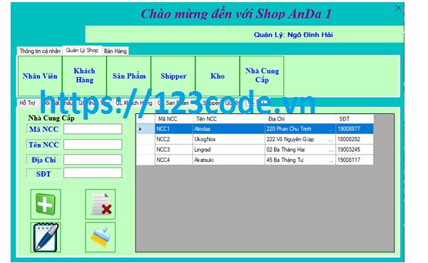 Source code chương trình quản lý chuối quần áo c# có báo cáo