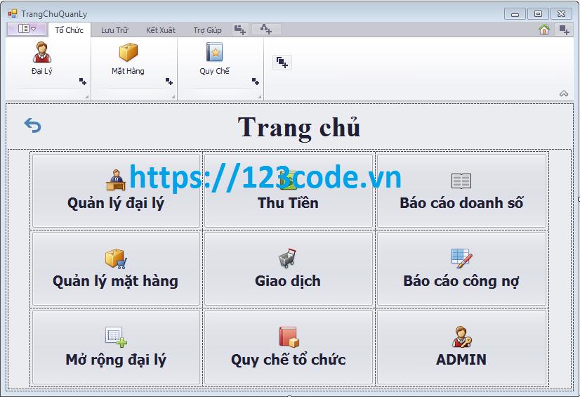 Source code kèm báo cáo đề tài quản lý đại lý c# sql server