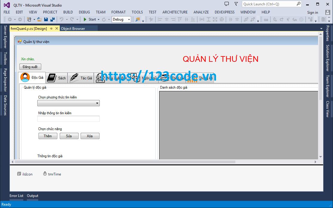 Đề tài công nghệ phần mềm quản lý thư viện c# mô hình 3 lớp có báo cáo