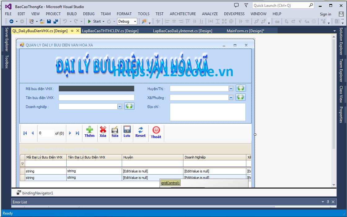 Đề tài tốt nghiệp phần mềm quản lý dịch vụ công c# full báo cáo