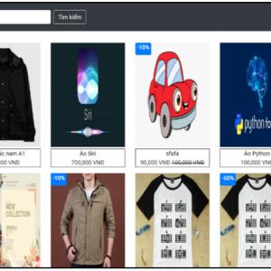 Đề tài website bán quần áo sử dụng Angular kết hợp asp.net Api có báo cáo