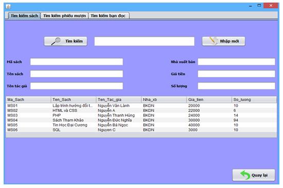 Đồ án phần mềm quản lý thư viện java sql có báo cáo