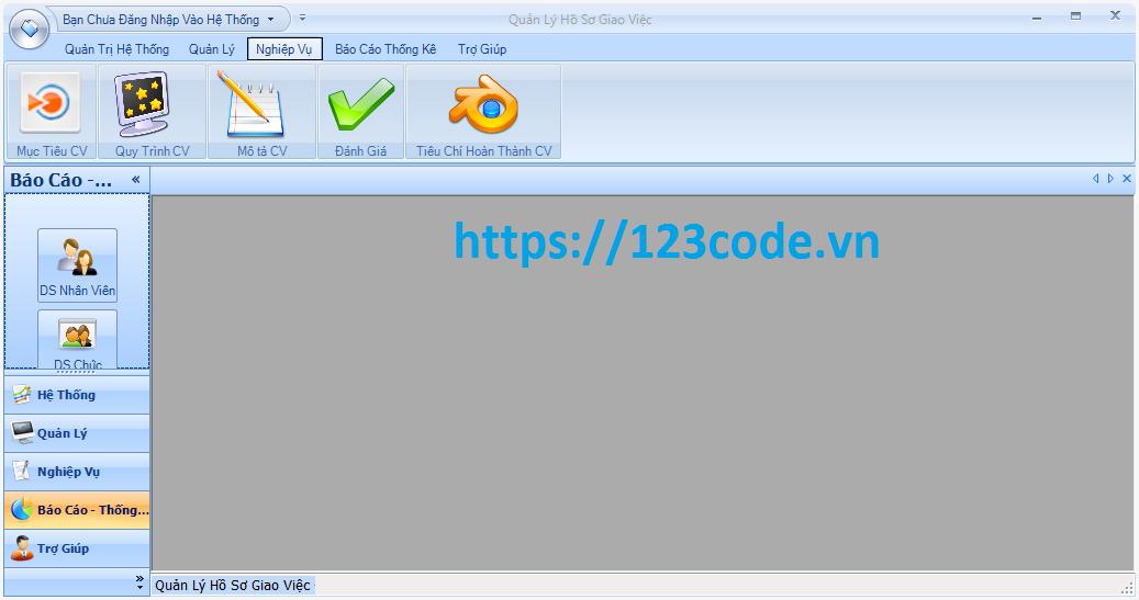 Đồ án tốt nghiệp phần mềm quản lý hồ sơ giao việc nhân viên c# có báo cáo