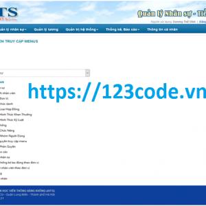 Đồ án tốt nghiệp quản lý nhân sự tiền lương asp.net có báo cáo