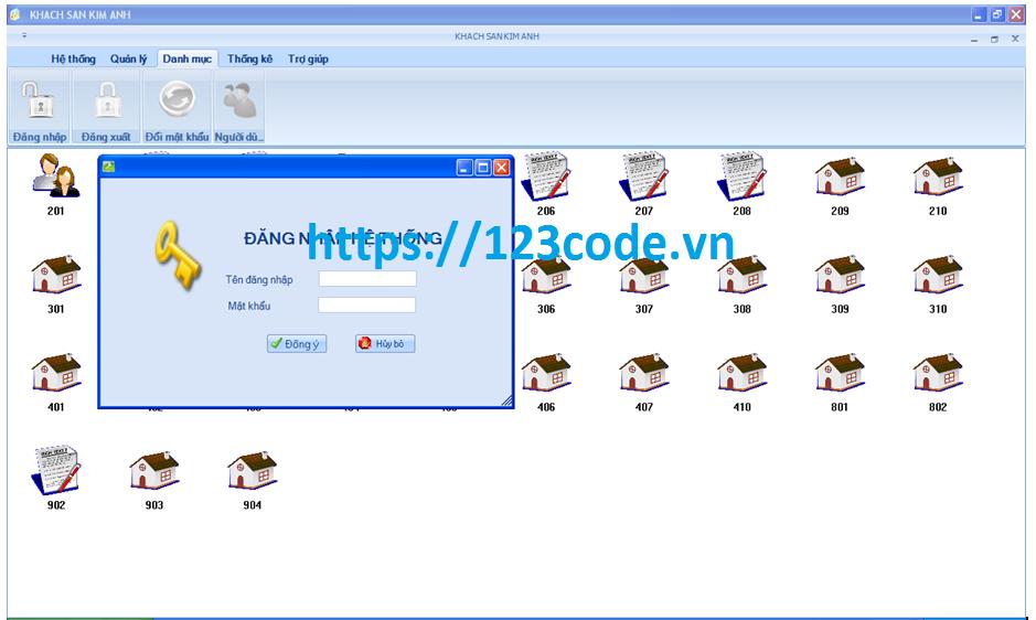 Luận văn tốt nghiệp quản lý khách sạn c# kết nối sql full code và báo cáo