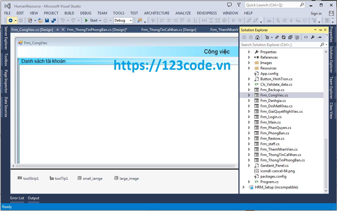 Source code đề tài quản lý nhân sự c# sql full báo cáo