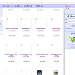 Source code website bán hàng điện thoại php thuần tải miễn phí
