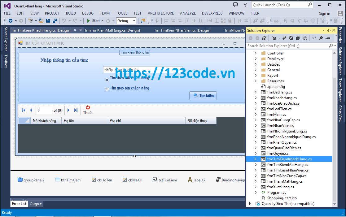 Báo cáo cuối ký code phần mềm quản lý bán hàng c# có báo cáo