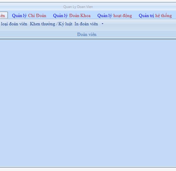 Luận văn phần mềm quản lý đoàn viên vb.net sql có báo cáo