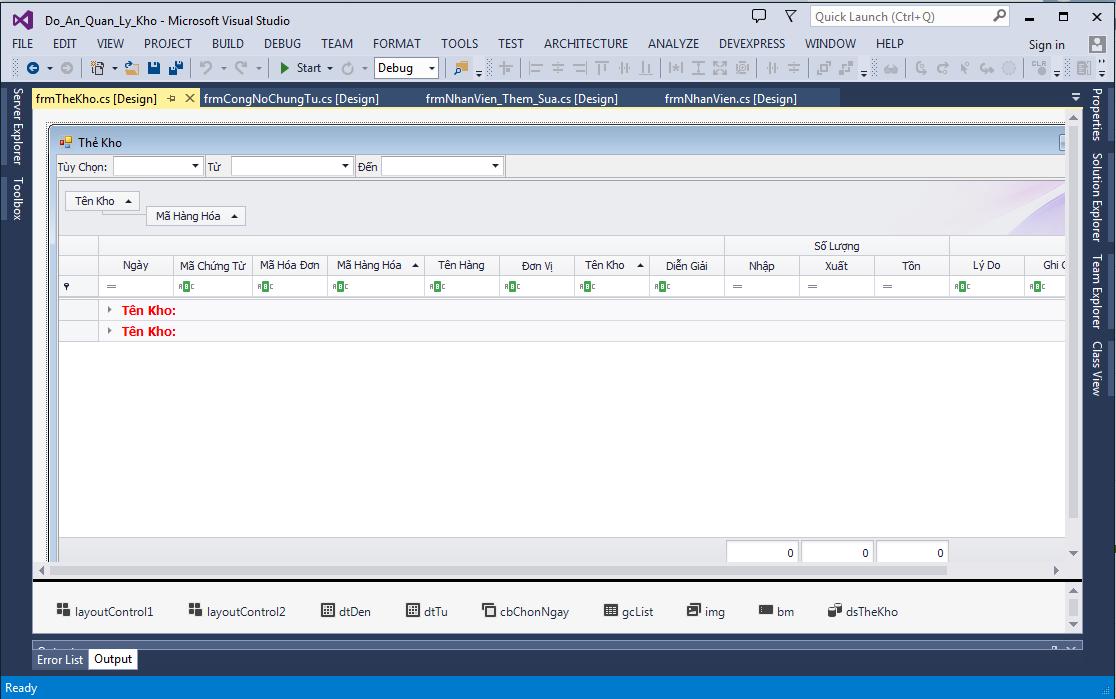 Báo cáo kèm source code phần mềm quản lý kho hàng c# full chức năng