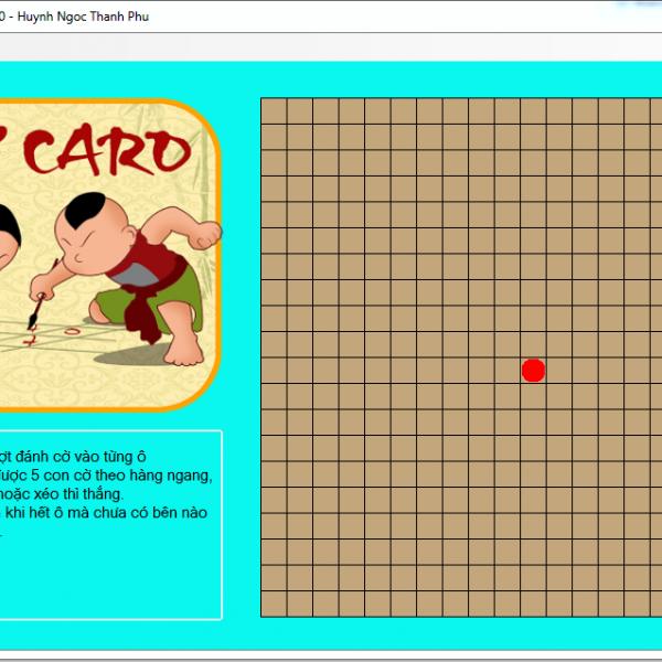 Tải miễn phí source code game cờ caro viết bằng c# cực hay