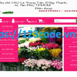 Đồ án môn học website bán hàng hoa tươi asp.net - MVC có báo cáo