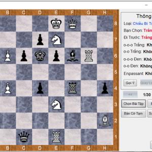 Đồ án môn trí tuệ nhân tạo code game cờ vua c# full báo cáo