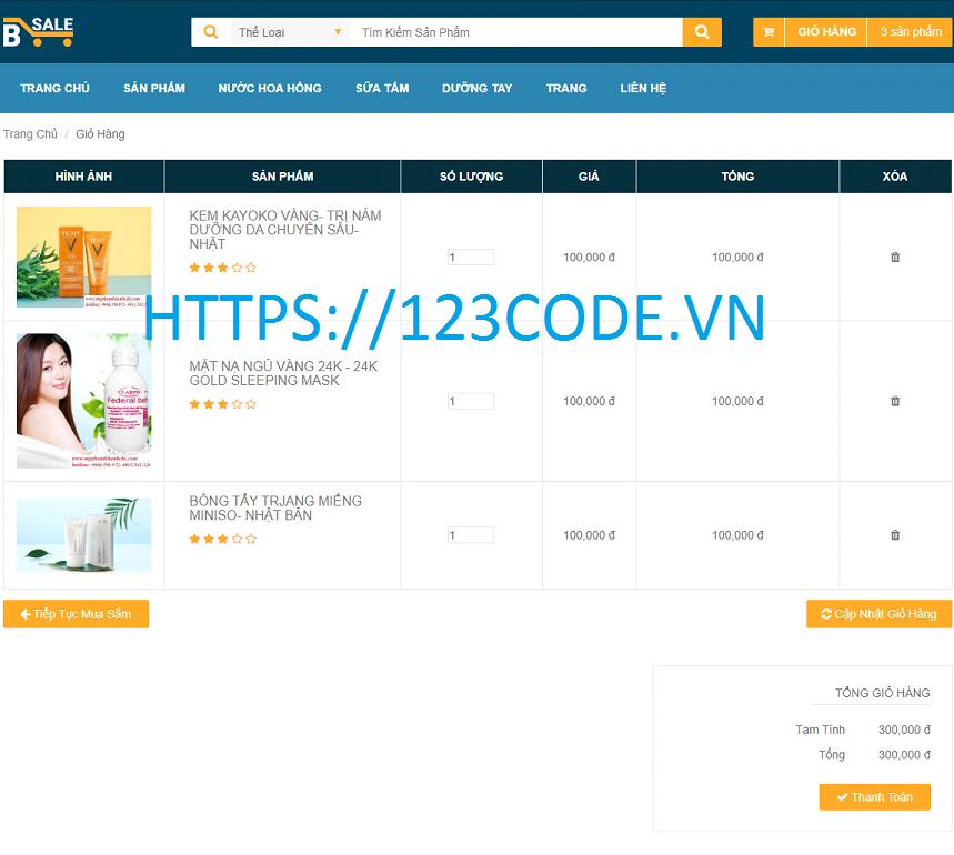 Đồ án tốt nghiệp webiste bán hàng mỹ phẩm sử dụng SERVLET, JSP VÀ MYSQL có báo cáo