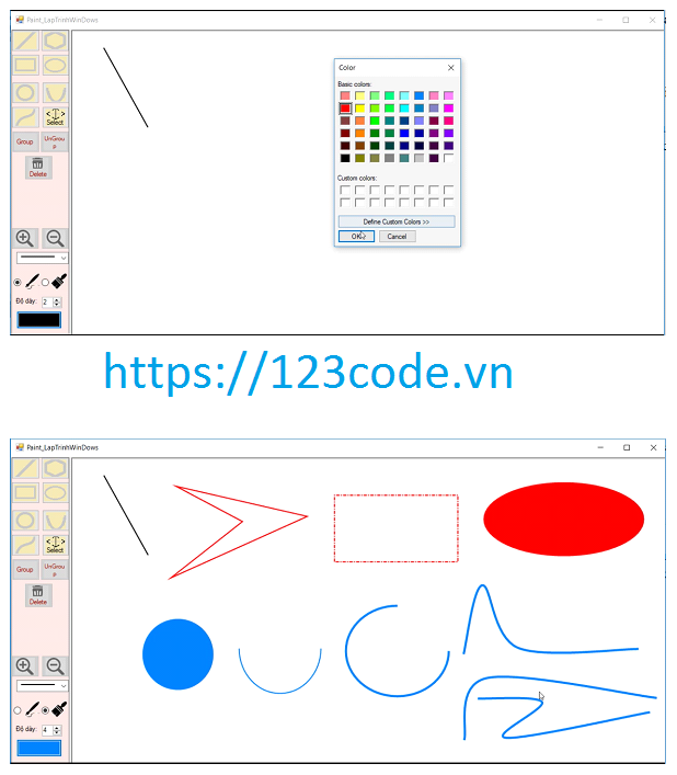 Tải miễn phí source code đồ án phần mềm Paint viết bằng c# có báo cáo