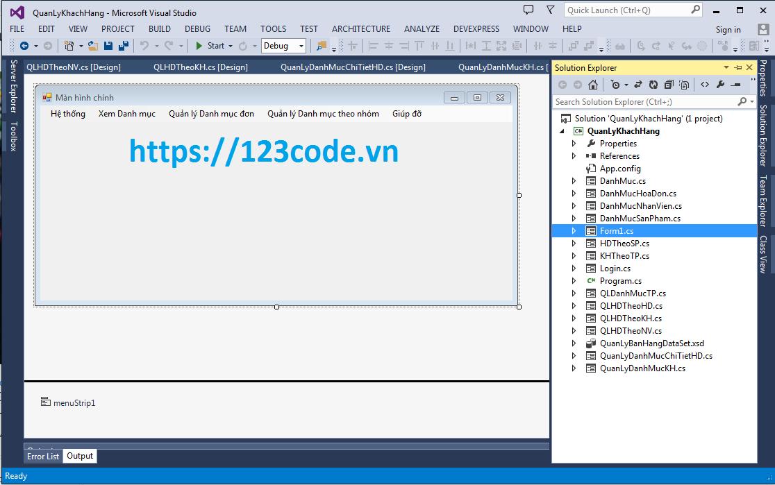 Tải miễn phí source code quản lý bán hàng c# full chức năng cho bạn tham khảo