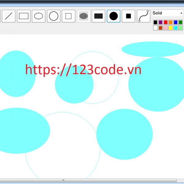 Tải miễn phí source code vẽ hình - Paint viết bằng c#