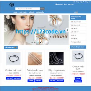 Tải source code đề tài website quản lý bán hàng đồ trang sức asp.met - mvc 5 có báo cáo