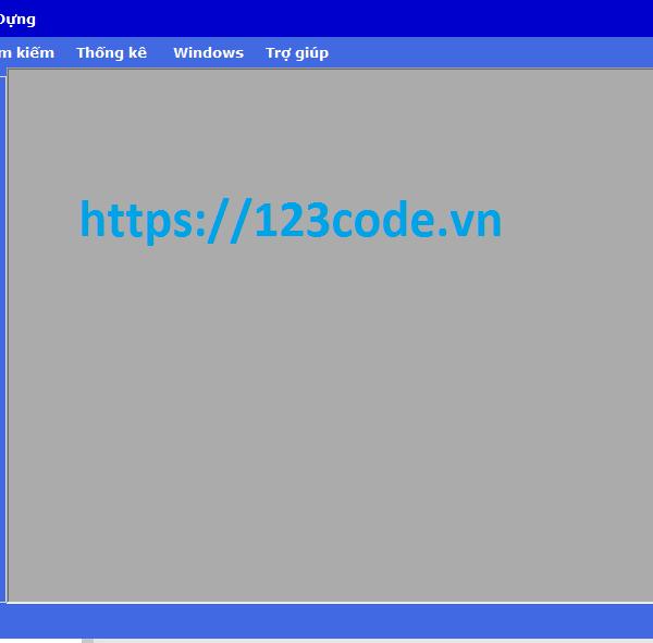 Source code đồ án quản lý vật liệu xây dựng c# có báo cáo