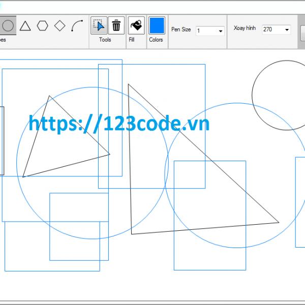 Source code vẽ hình - paint viết bằng c# tải miễn phí
