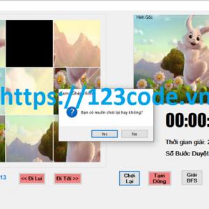 source code đồ án trí tuệ nhân tạo game ghép hình c# có báo cáo