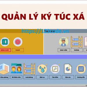 Phần mềm quản lý ký túc xá c# kết nối sql full chức năng