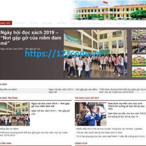 Báo cáo thực tập website tin tức trường học bằng ngôn ngữ php - frameword Laravel