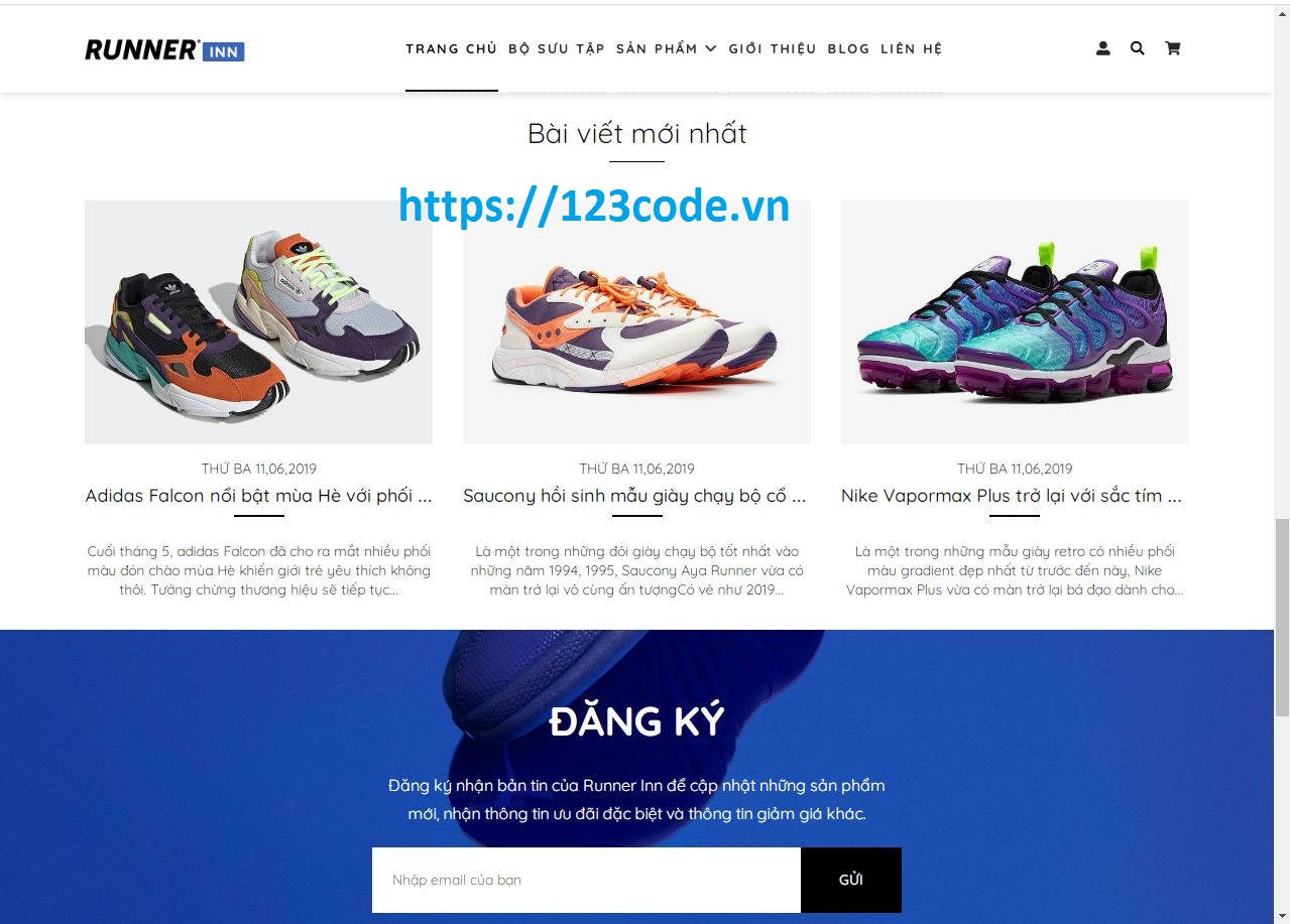 Share code website bán hàng html - css (Bootstrap) tải miễn phí