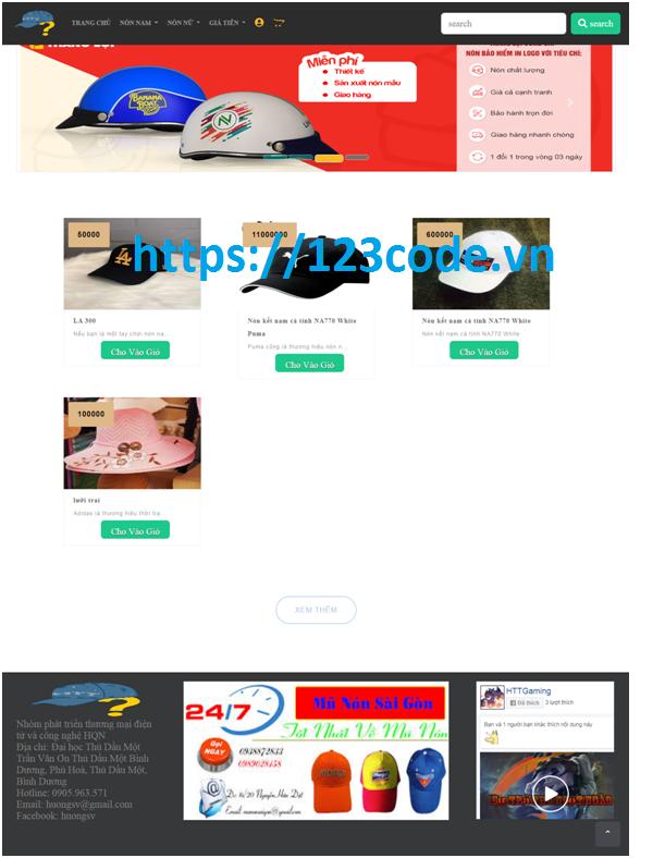 Xây dựng website bán hàng code asp.net mvc kèm báo cáo