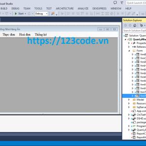 Full source code Hệ thống quản lý nhà hàng C#