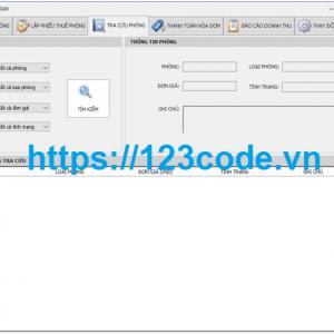 Đề tài phần mềm quản lý khách sạn code c# nhập môn CNPM