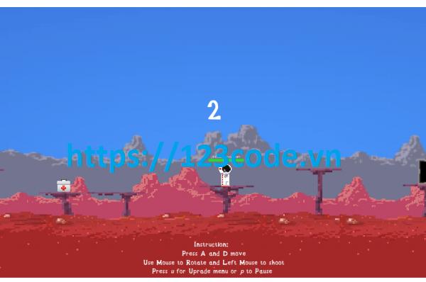Luận văn tốt nghiệp game Sinh tôn ở hành tinh mới bằng Unity 2D có báo cáo