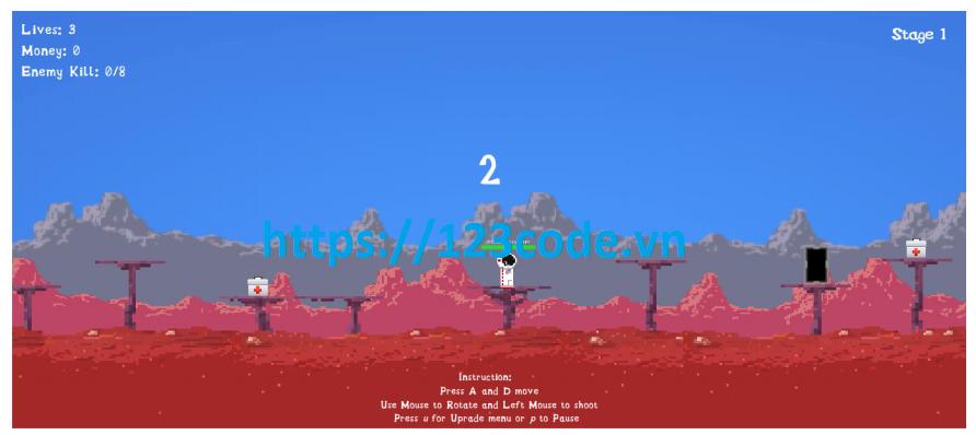 Luận văn tốt nghiệp game Sinh tồn ở hành tinh mới bằng Unity 2D có báo cáo