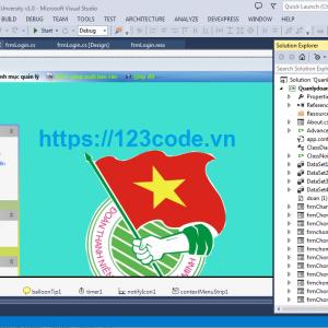 share code phần mềm quản lý đoàn viên viết bằng c# data access