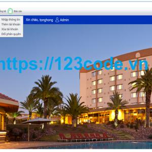 Share bài tập lớn môn lập trình java phần mềm quản lý khách sạn có báo cáo