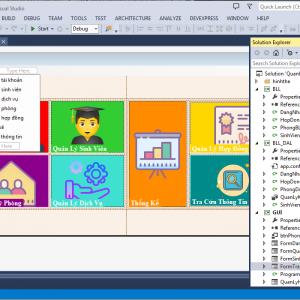 Share code đề tài phần mềm quản lý ký túc xá c#