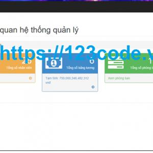 Share code báo cáo phần mềm quản lý nhân sự asp.net có báo cáo