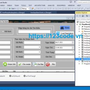 share code đề tài phần mềm quản lý thư viện c# môn công nghệ phần mềm