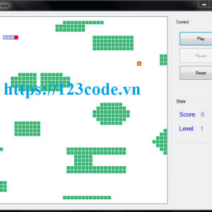 Share code game rắn săn mồi c# tải miễn phí