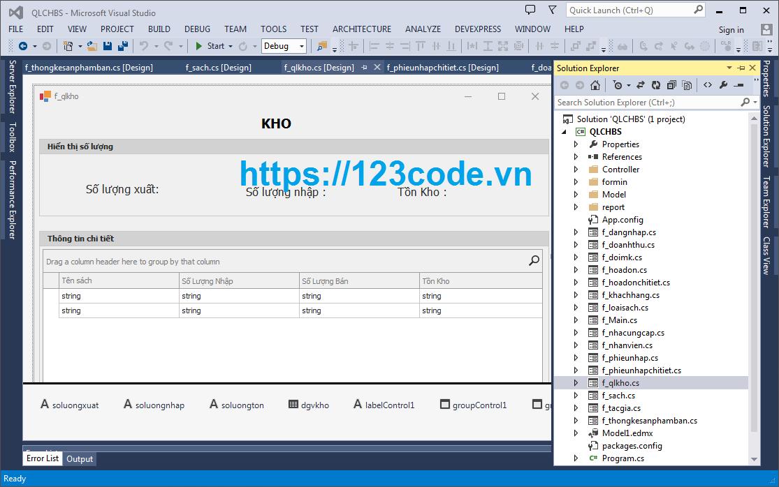 Tải code phần mềm quản lý cửa hàng bán sách c# full chức năng